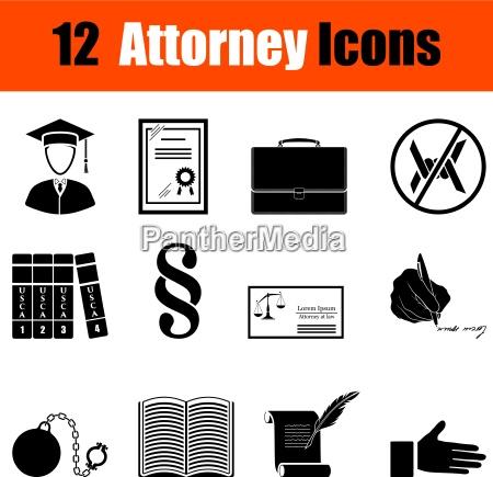 set di icone legali