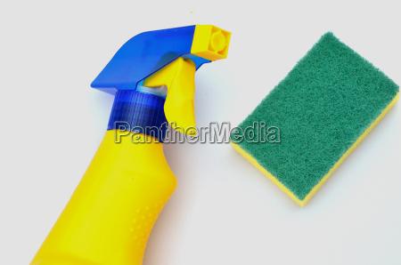 bottiglia plastica schiuma spruzzare schizzare detersivo