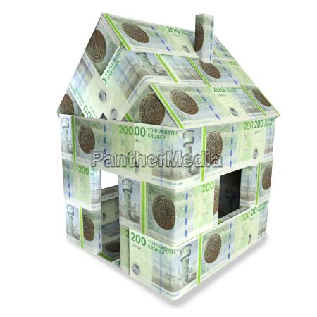 casa costruzione danimarca luce splendore corona