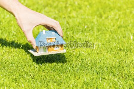 casa costruzione bio progettazione concetto modello