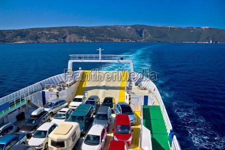 blu trasporto croazia traghetto acqua salata