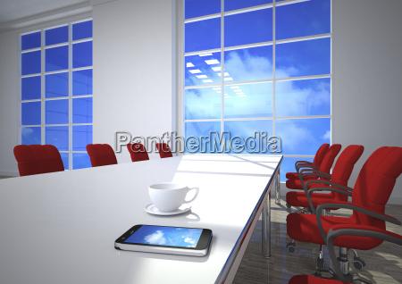 telefono ufficio cellulare progettazione concetto modello
