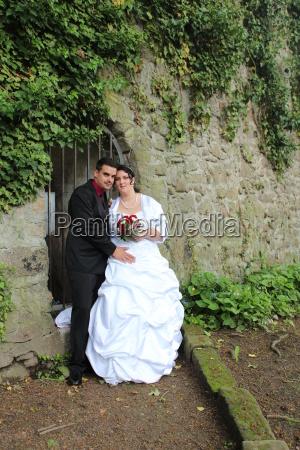 nozze matrimonio convivenza muro mazzo bouquet