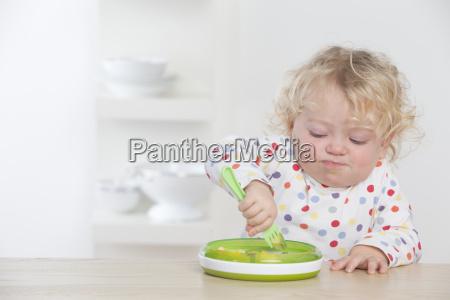 caucasico europeo bambino neonato lattante vista