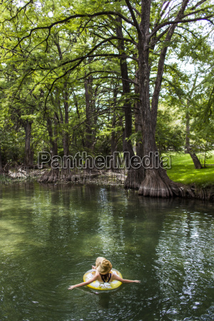 the blue hole in wimberley texas