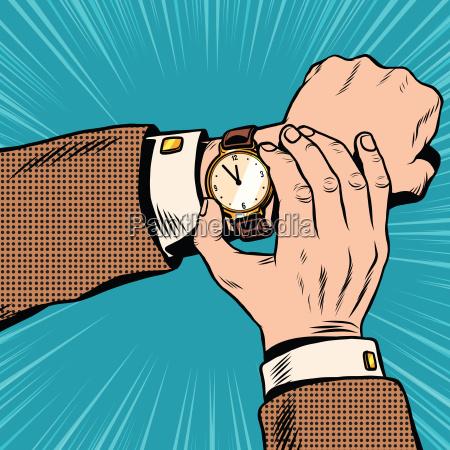 orologio da polso retro pop art
