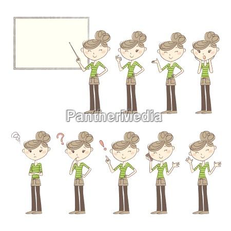 set, di, pose, ed, emozioni, donne - 17728978