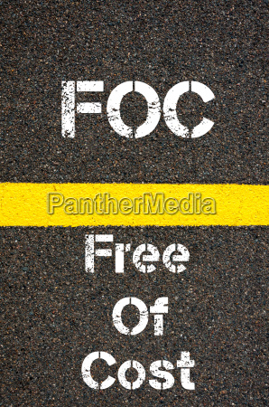 business acronym foc free of cost