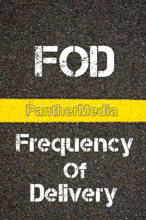 business acronym fod frequency of delivery