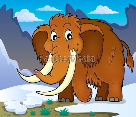 immagine tema mammut 1