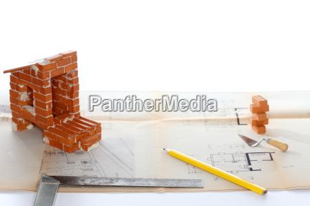 pianificazione della casa con gli strumenti