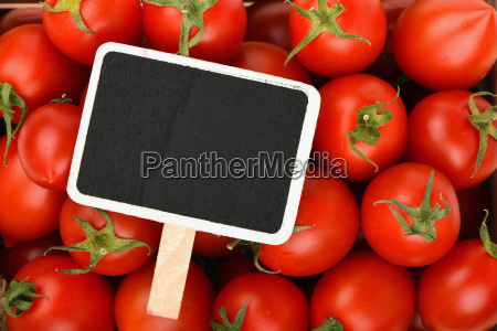 red cherry tomatoes with black price