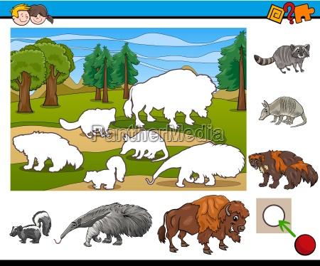 educazione illustrazione puzzle fumetto torneo cartone