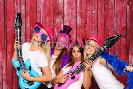 foto di gruppo divertente con photo