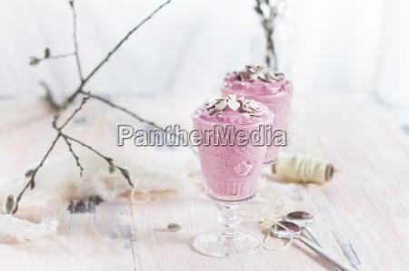 bicchiere dolce dolci legno frutta fruttato