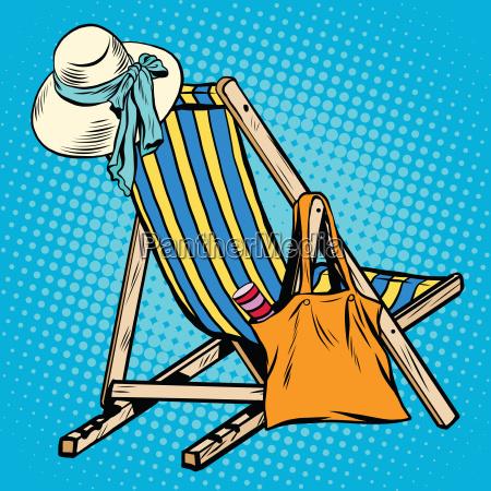 sedia poltrona reclinare oggetto viaggio viaggiare