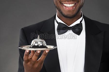 servizio africano campana cameriere maggiordomo ospitalita