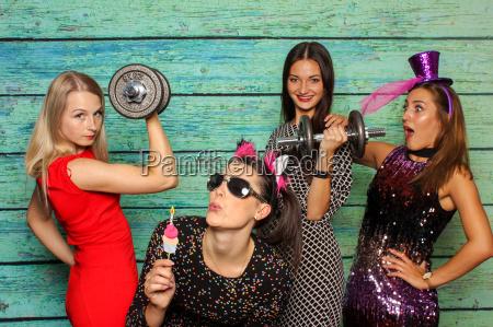 donne atletico sportivo campane amiche sollevatore