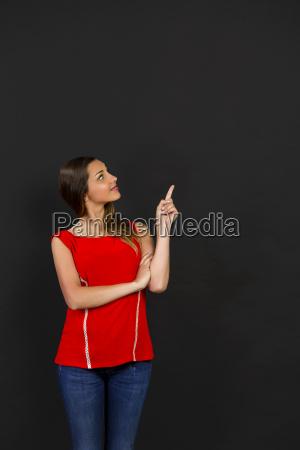 donna presentare spettacolo educazione show studente