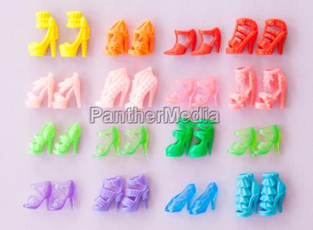colorato scarpe