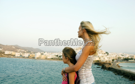 woman and young girl