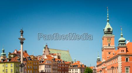 piazza del castello di varsavia polonia