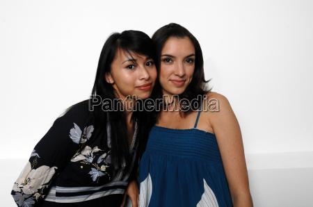 portrait of two women