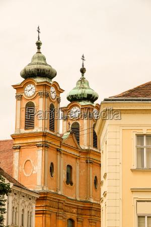 historic architecture in sopron