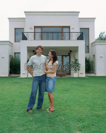 couple in the garden