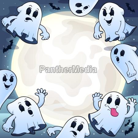 notte luna sera spirito spettro fantasma