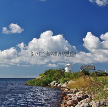 lighthouse strukkamphuk insel fehmarn