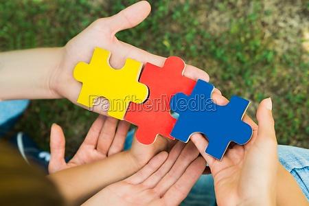 mano mani gioco giocato giocare puzzle