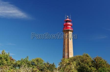 lighthouse fluegge insel fehmarn