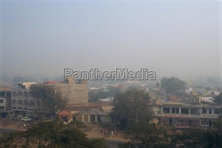 smog nel clima invernale agra stato