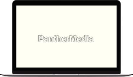 portatile computer pc mac vettore
