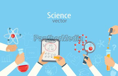 educazione esperimento scienza ricerca medicina chimico