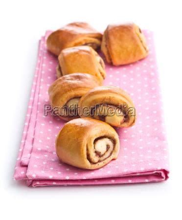 cibo dolce biscotto carino pasticcini chignon
