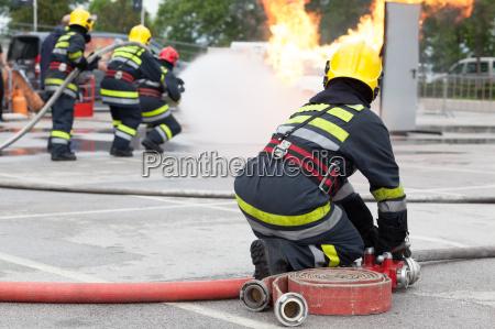 formazione vigili del fuoco