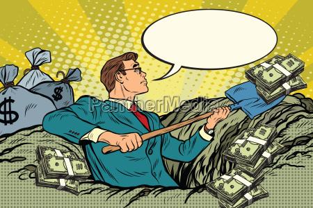 banca persone popolare uomo umano dollaro