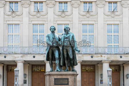 monumento arte famoso germania classico teatro