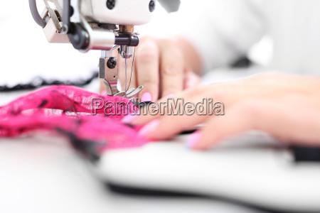moda fabbrica macchina da cucire sartoria