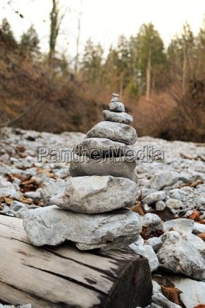 legno scultura rocce roccia statura stratificato