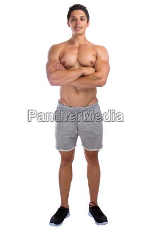 bodybuilder bodybuilding muscoli corpo costruzione uomo