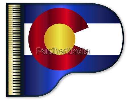 grand piano colorado flag