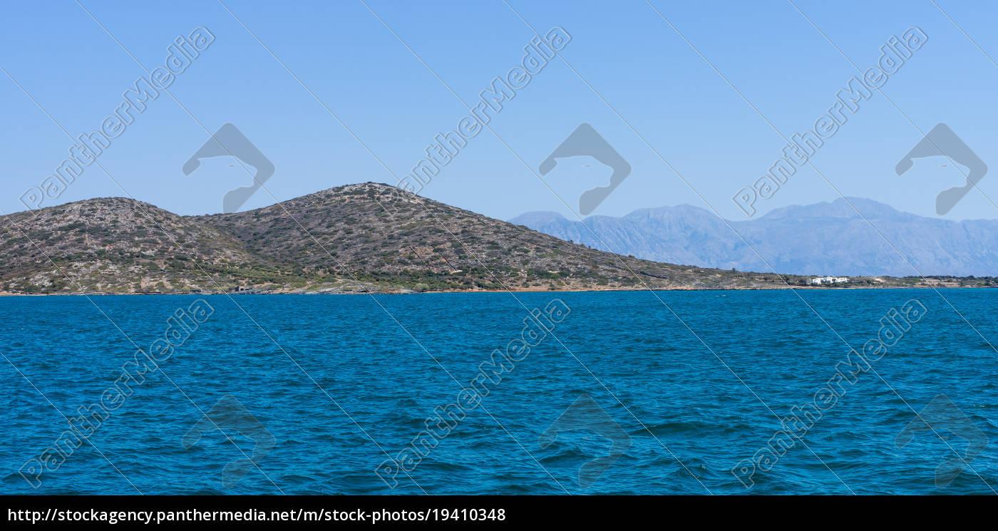 seascape., mediterranean, sea., crete., greece. - 19410348