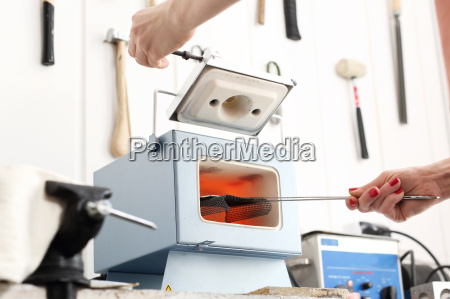 cinque fuoco ceramica temperatura guancia fornace