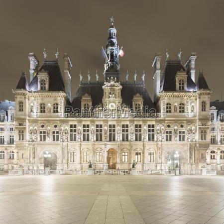 citta notte buio oscurita europa parigi