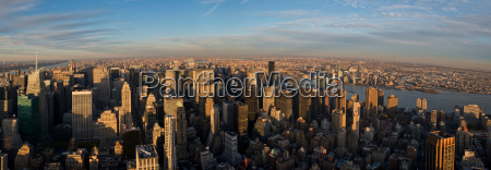 vista panoramica dal empire state building