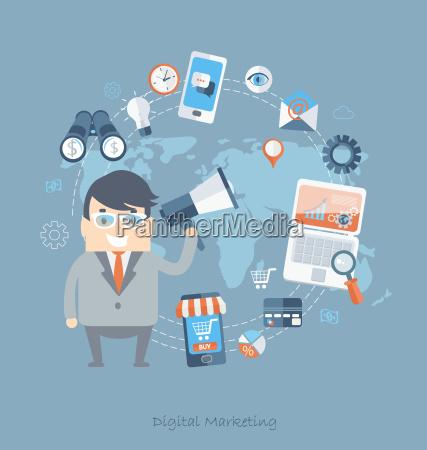 strategia affare affari lavoro professione digitale