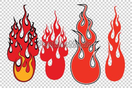 pericolo arte rilasciato grafico caldo potenza